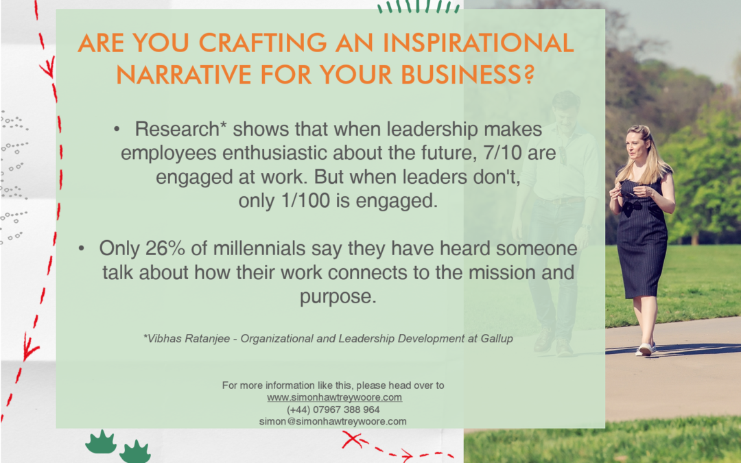 Are you crafting an inspirational narrative for your business?